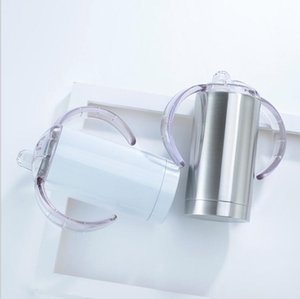Tumblers Double Layer Chupeta Cup com punho de água de aço inoxidável Garrafa Moda Vacuum Cup Duplas Leak Proof Viagem Cup DHD1508