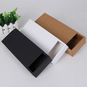 Eco Friendly Kraft Paper Cardboard Drawer Box Socks Underwear Gift Packaging Storage Paper Box LX8108