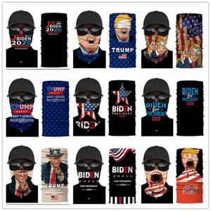 2020 US Election Bandana Biden Donald Trump Magic Scarf Sports Face Masks Cycling Biker Dustproof Scarves American Flags Headband E92304