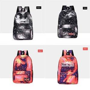 2020 GD mejor alta calidad del precio del totalizador del bolso de hombro Fortnite cielo estrellado Fortaleza Noche mochila escolar BAG 236 # 442