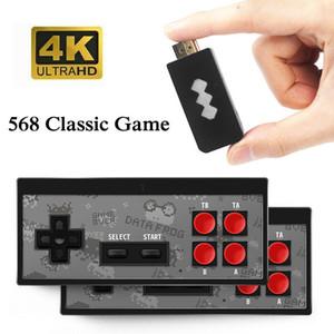 En Yeni 4K HD Video Oyun Oynatıcı Kablosuz El Oyun Joystick HDMI 600 / AV 568 Retro Klasik Oyunlar Kablosuz Taşınabilir Konsol Çocuk Hediye