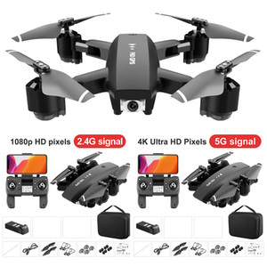 WiFi FPV RC Drone 4K Camera Optical Flow 1080P HD Dual Camera F63 Drone GPS 4K 5G Quadcopter Height Keep Drone Camera Helicopter