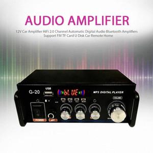 12V Auto Hallo Fi 2.0-Kanal automatische Digital-Audio Bluetooth Auto-Fern intelligent xP0V #
