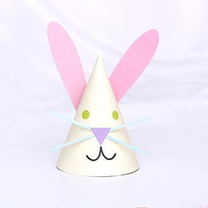 orelhas de coelho orelha de coelho bonito 41uEr chapéu combinando chapéu bebê infantil celebridade Internet tu Er Tu de ErChildren