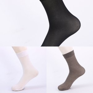 Summer men's Mercerized cotton stockings mercerized cotton mid-calf socks business breathable thin stockings men's socks