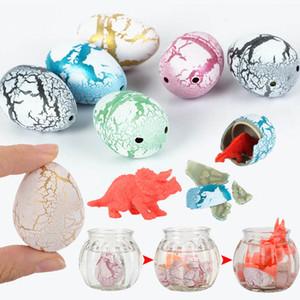 참신 개그 완구 어린이 장난감 귀여운 매직 부화 성장 동물 공룡 달걀 어린이 교육 창조적 인 장난감 선물에 대한
