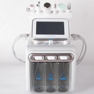 Heißer verkauf 6 in 1 hydra Gesichtsmaschine RF Haut Rejuvenaiton microdermabrasion Hydro Dermabrasion Bio-Heben Falten Entfernung HYDAFACIAL