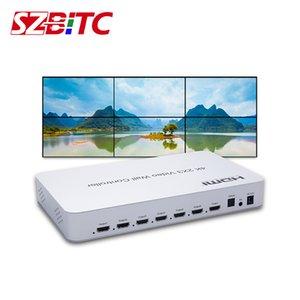4K Video Wall 2x3 Regolatore 1 a 6 su HDMI Video Canale Audio Processor TV splicing Box Con RS232 telecomando per monitor