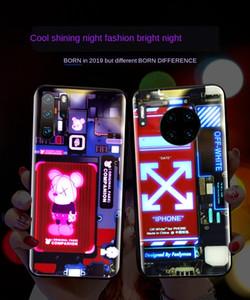 UyZx0 adatto per la cassa Huawei mate30Pro telefono istantaneo RENO luminoso interno 20x 5g curvo Portacellulare incandescente Schermo luminoso pr vetro