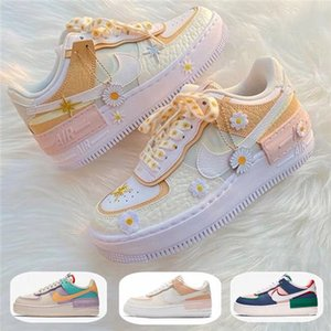 nikeairforce1airforceoneAF1 Shadow SE World Indigo Forces WMNS 07 Utility 1s Candy Macaron Women Running Shoes Air Sport one Skateboard Sneakers CK6561-001