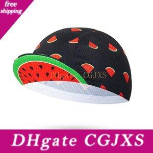 Ein -Größe Watermelon Radfahren Caps Bike Hüte Männer und Frauen Fahrrad-Cap Individueller Radmütze Schal Mtb Wear Kopfbedeckung Schädel-Kappe