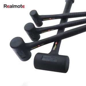 Rubber Shockproof Hammer Wear-resistant Anti-skid Hammer Round Head No Rebound -absorbing Practical Hand Tools