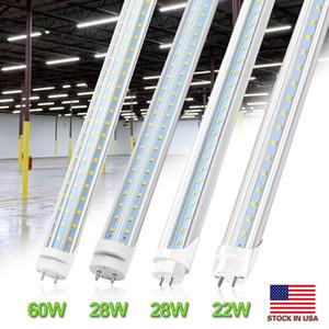 4FT LED Lights 4 FT T8 22W 28W 60W LED Tubes Light SMD 2835 LED Tube T8 G13 Fluorescent Tube Lamp AC85-265V