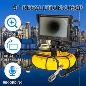 HD 1080P 검사 깊이 방수 내시경 내시경 Euipment 산업 배수 하수 파이프 파이프 라인 검사 DVR 카메라
