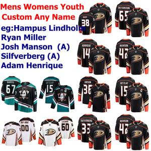 Anaheim Ducks Jerseys Womens Josh Manson Jersey Hampus Lindholm Ryan Miller Ryan Getzlaf Rickard Rakell Green Hockey Jerseys Custom Stitched