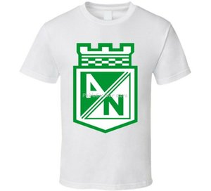 Clube do futebol do futebol T-shirt da Colômbia Atletico Nacional Cotton New Trends Tops Camiseta