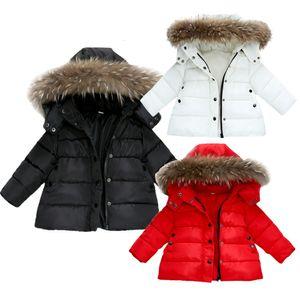 Autumn Winter Warm Coats For Boys Baby Girls Jackets Kids Hooded Outerwear Coat Children Clothes Deals