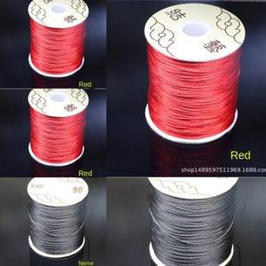 Taiwán Corea 6 7 nylon hilo de seda DIY chino nudo línea de hilo de seda DIY cuerda trenzada chino nudo línea de jade Jade cable de acero