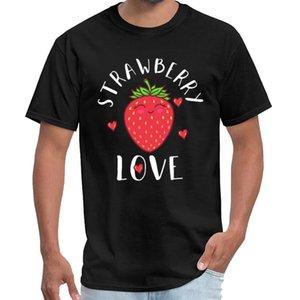 Anpassen Erdbeerebeere T-Shirt homme coton männlich weiblich Büro TV-Show s-6xl Hip-Hop