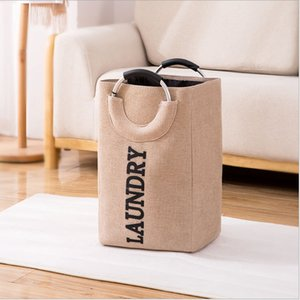 New style laundry basket, storage basket, foldable laundry basket, light weight, bracelet storage bag, factory direct sales
