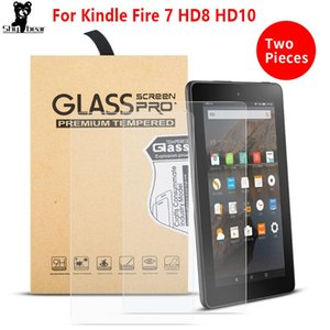 tempered glass screen protector for amazon kindle fire 7 HD 8 HD10 scratch proof protective screen capa for kindle fire tablet