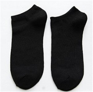 Designer Socks Mens Comfortable Casual Solid Color Socks Fashion Breathability and Sweat Absorption Ankle Socks Mens