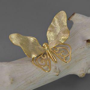 Gioielli iNature argento 925 farfalla Spilla per le donne di moda sposa