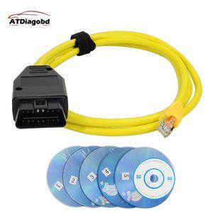 ESYS Para F-series ICOM OBD2 Codificação de diagnóstico cabo Ethernet para OBD ESYS Dados OBDII ESYS Codificação Invisível ENET dados Para