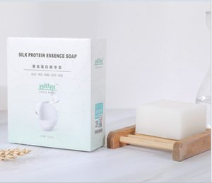 Wholesale Miaofu Silk protein essence soap drawing oil control cleansing face bath sulphur-free hand soap wholesale