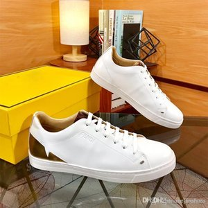 2020 New Men White Casual Shoes Outdoor Walking Shoes Breathable Fashion Mens Driving casual shoes Classic designer sneakers Size 38-45