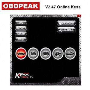 최신 Ksuite V2.47 EU 온라인에 대한 KESS V2 5.017 OBD2 관리자 튜닝 도구 무제한 Notoken Spporting 더 프로토콜보다 v2.23 YNPF 번호