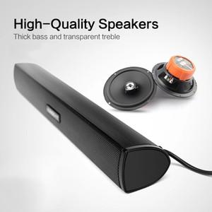 Fashion Portable Speaker Subwoofer USB Soundbar Sound Bar Stick Music Player Speakers For Tablet Laptop PC Speaker Oradora