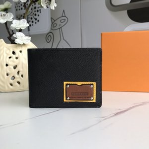 Wallets Mens Wallet Purses Damier Graphite Wallet Men Short Wallets Fold Card Holder Passport Holder Women Long Folded Purse Photo Pouch