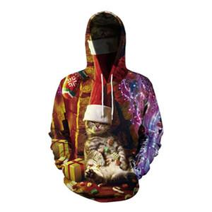 Большой размер Мода длинным рукавом Карманный Вышитые дамы с капюшоном Плюс Velvet свитер осени Новый Straight Solid Color Coat свитер # 239