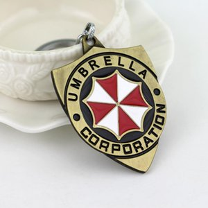 Fiction Key Accessories Keychain Evils Chain Rx Ring Shield Action Corporation Thriller Movie Science Residents Key Umbrella fles_tsetfCO