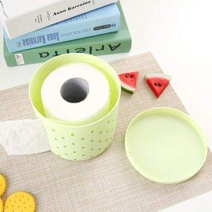 ePlastic Tissue Box Round Side Draw Tissue Box Draw-Halter Runde Serviette Papierförmchen