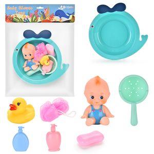 École maternelle Kid Pretend Baigner Canard Early éducation Simulé Baignoire Play Set Baby Bathing Toy Set Pretend Jeux