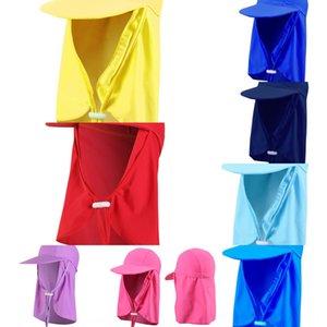 Sonnenhut Cornice Kappe Kinder Erwachsener Badekappe Außen Strand schwimmen winddicht Sand fest UV-beständig elastischen großen Hut Eaves DrEEw