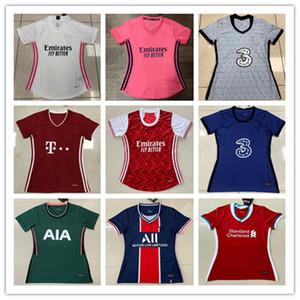Футбол трикотажных изделия 20/21 Лучшего качество футбол рубашка 2020 2021 Реал Мадрид Женской Женской