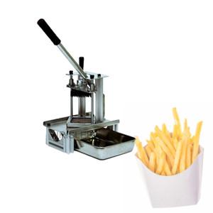 Из нержавеющей стали французский Fries Резцы картофельных чипсов Strip резки Maker Slicer Chopper Dicer Кухонные гаджеты