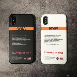 아이폰 11 프로 최대 6 S 7 6S 7plus 8 8plus X XR XS 흰색 최대 전화 coque에 대한 실리콘 커버 케이스 오프 공간 소프트 우주 비행사 미국 거리 트렌드