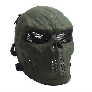 CS Mask Fans liefert Schädel Zombie Real Field Equipment Face Warrior Schutz volle PTNPO