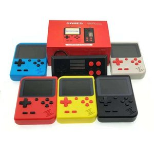 Mini Portable Handheld Doubles Game Console Can Store 400 Game 8 Bit 3 .0 Inch Lcd Color Colour Children Game Player