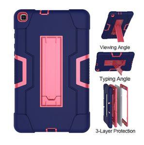 De piel para Samsung Galaxy Tab 8.0 A 2019 T290 T295 prueba de golpes Safe Kids completa de la cubierta protectora para la lengüeta A 8 pulgadas 2019 SM-T290 SM-