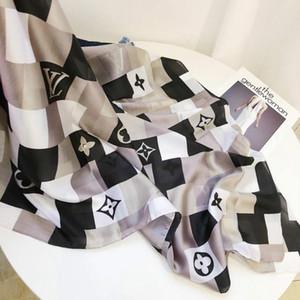 Nuova 2020 donne sciarpa Brand New Designers classica sciarpa di seta morbida e calda di moda scialle Sciarpe 180x90cm trasporto libero AAU02