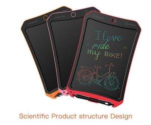 8 .5inch 다채로운 휴대용 디지털 LCD 그리기 태블릿 쓰기 그래픽 보드 메모 노트 알림 메모장 스타일러스 펜 CR2032 배터리