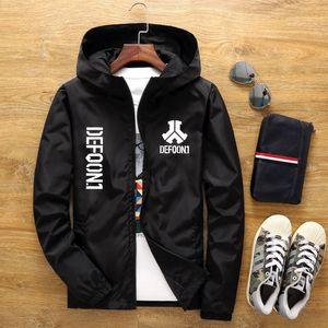casual wear jaqueta Defqon 1 Rock de Nova homens para homens Magro primavera bonito outono Baseball Bomber Jacket tamanho Male grande 6XL