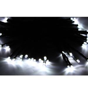 Longree 50 LED Solar Solar Powered White String String Light Xmas Garden Decor Lampeggiante Natale decorazione all'aperto decorazione fata