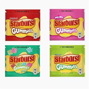 embalagem de alimentos resealable FoodMoisture-prova e saco de armazenamento à prova de insectos para alimentação e tabaco Várias cores do saco mylar Starburst 408 mg