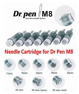 Derma kalem Yedek Mikro iğne Kartuşu 11/16/24/36/42 / nano Pim Elektrik Dermapen Dr için Kalem M8 MTS Cilt Gençleştirme